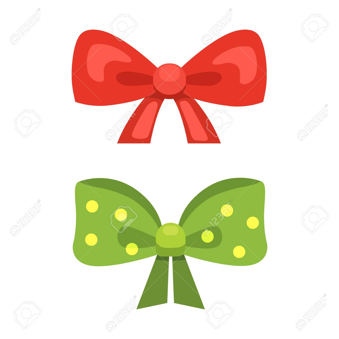 Cartoon cute gift bows with ribbons color butterfly tie cartoon cute gift bows with ribbons color butterfly tie 86087512 negle Images