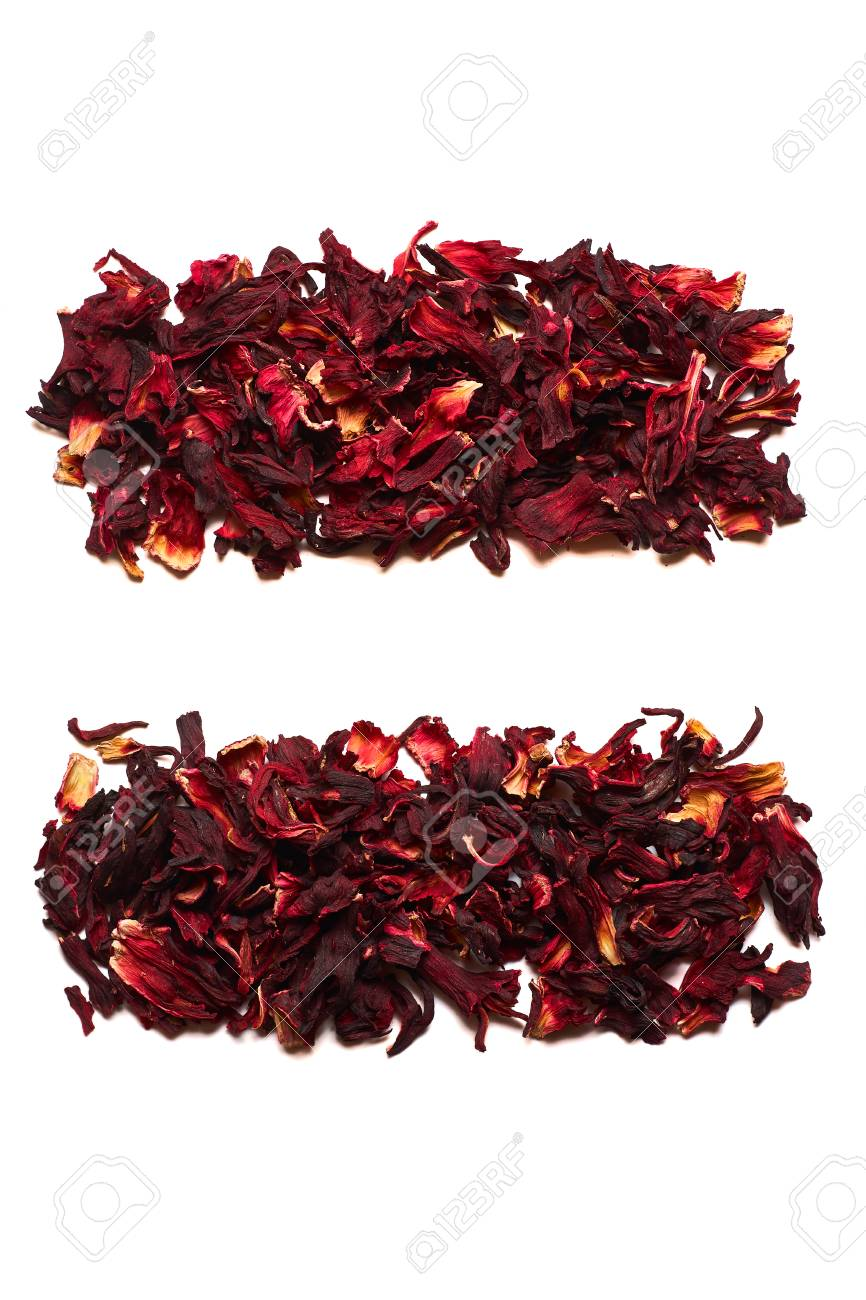 The symbol is equal to the dried flowers of hibiscus tea on a stock photo the symbol is equal to the dried flowers of hibiscus tea on a white background the symbol for banners advertisements menus izmirmasajfo