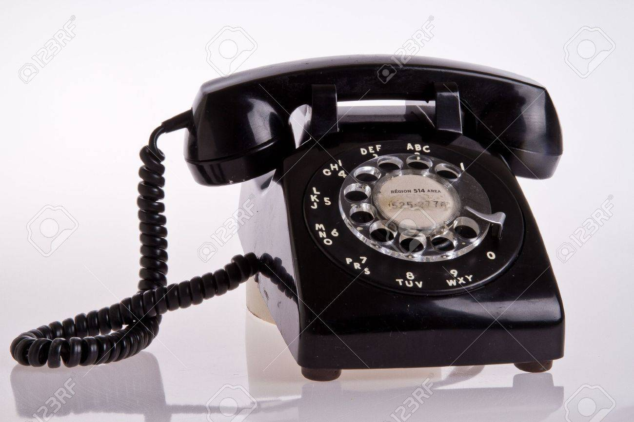 old telephone Stock Photo - 12182361