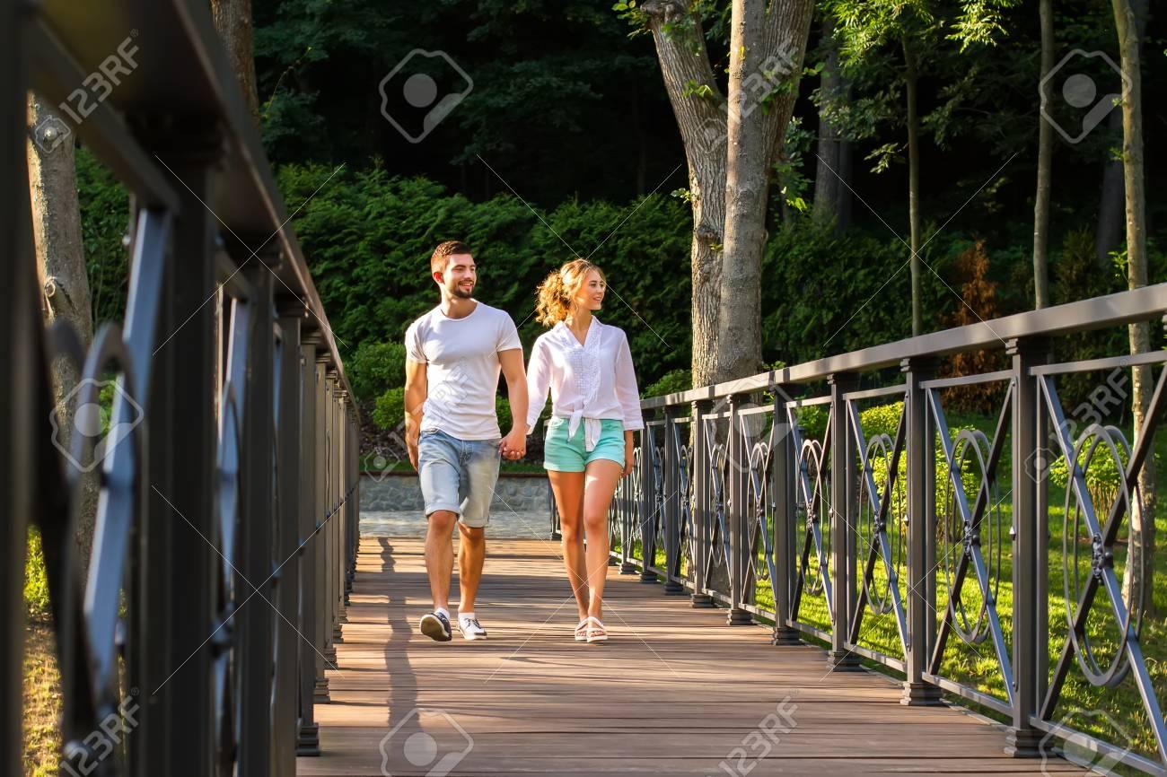 Beautiful nature lovers dating