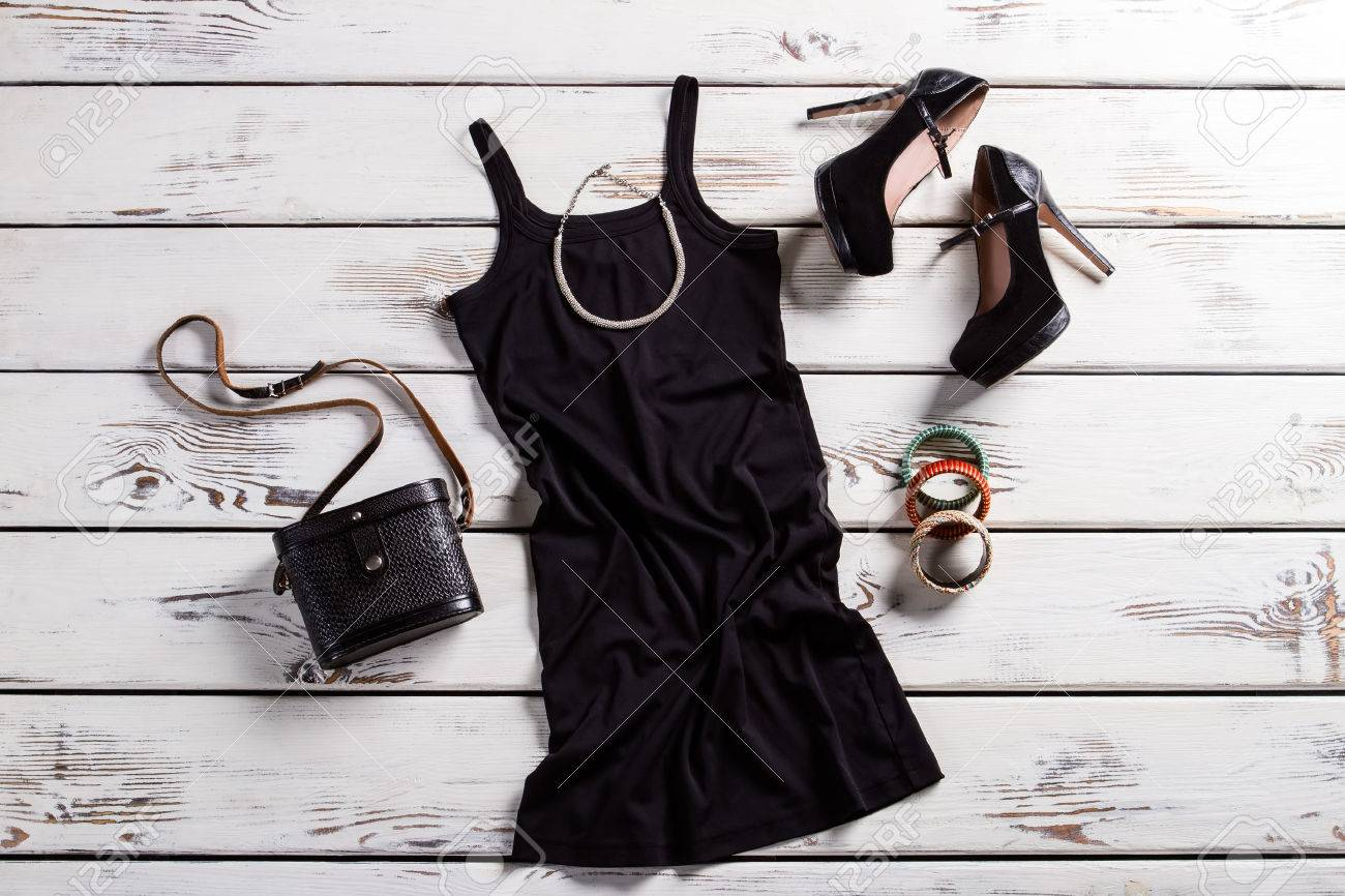 Jewelry. Black Female Outfit