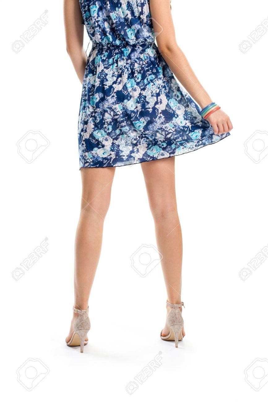 Vestidos para mujeres con piernas delgadas