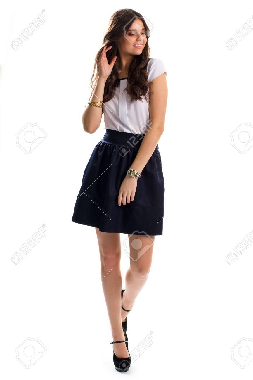 rok en blouse aan elkaar