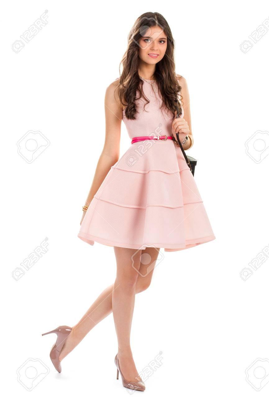 Pink Short Cocktail Dress