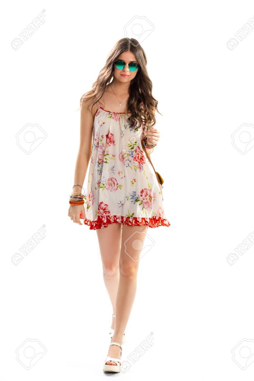 Fotos de vestidos cortos flores