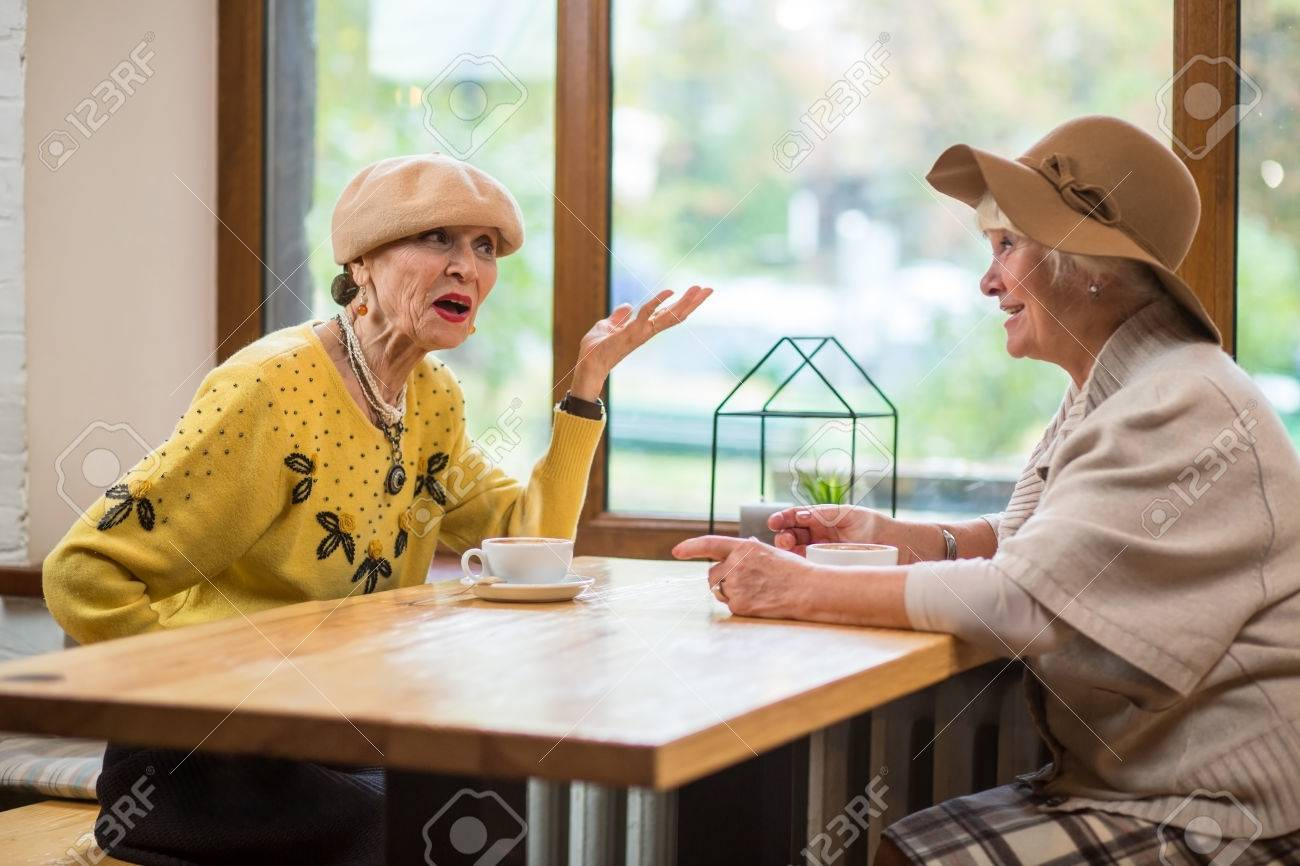 conversation between two old friends