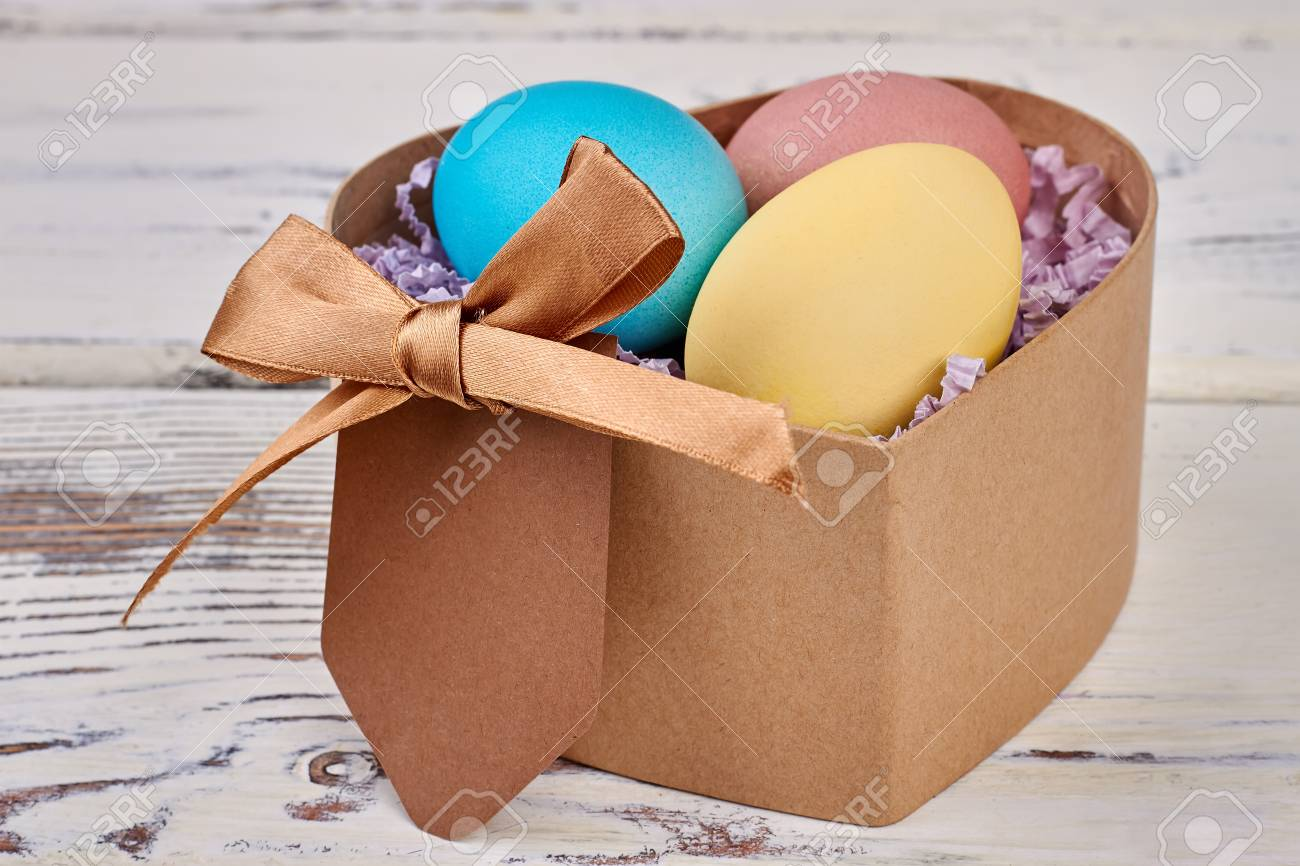 Heart shaped box easter eggs blank card and bow send gifts heart shaped box easter eggs blank card and bow send gifts this easter negle Images