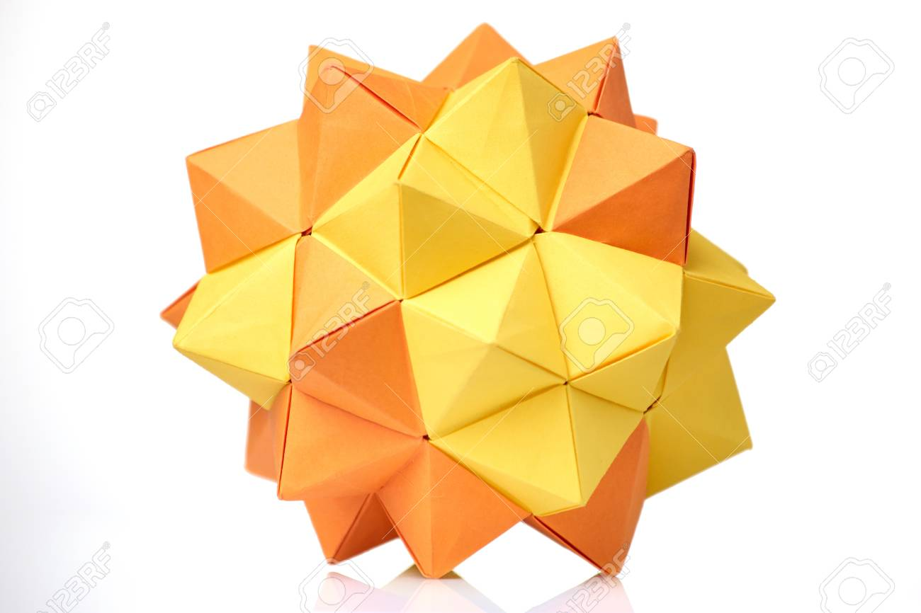 Kusudama Me! - Modular origami: Variaton of Spikes unit The lose ... | 866x1300