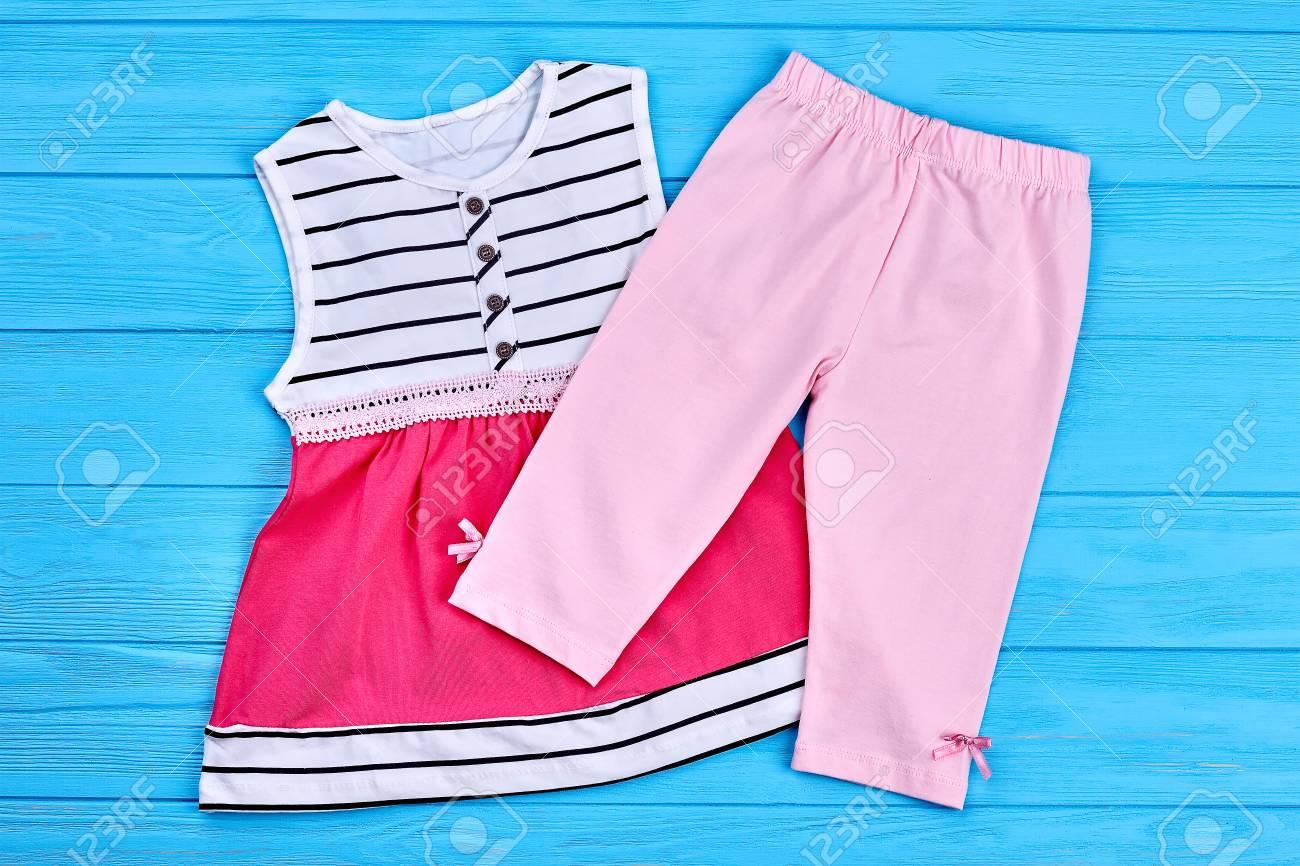 e3a6f7806 Cute kids cotton dress and capri. Natural toddler girls summer clothes.  Children cotton outfit