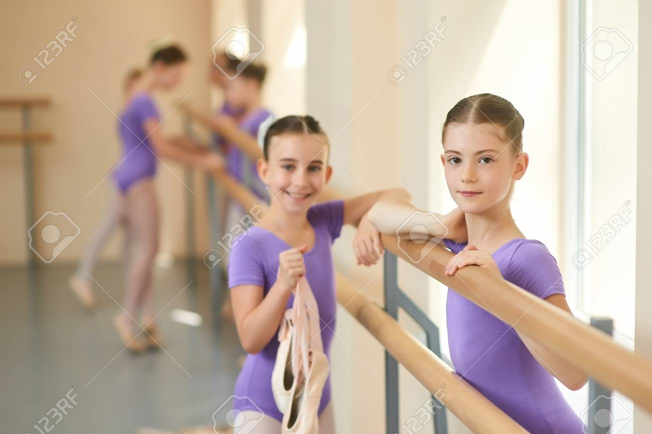 Young teen ballerina