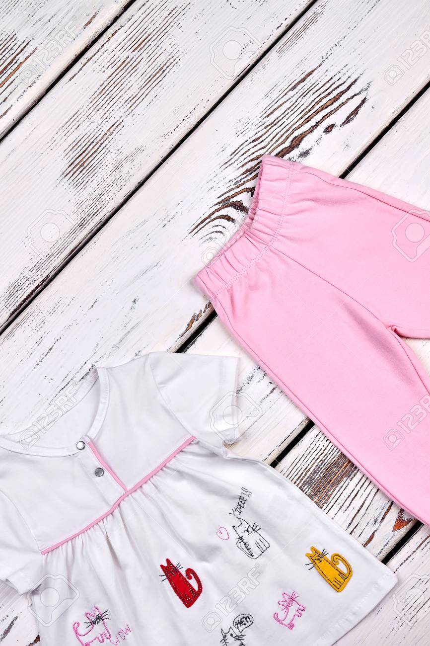 Girls' Clothing (0-24 Months) Baby Girls Top And Trousers Set