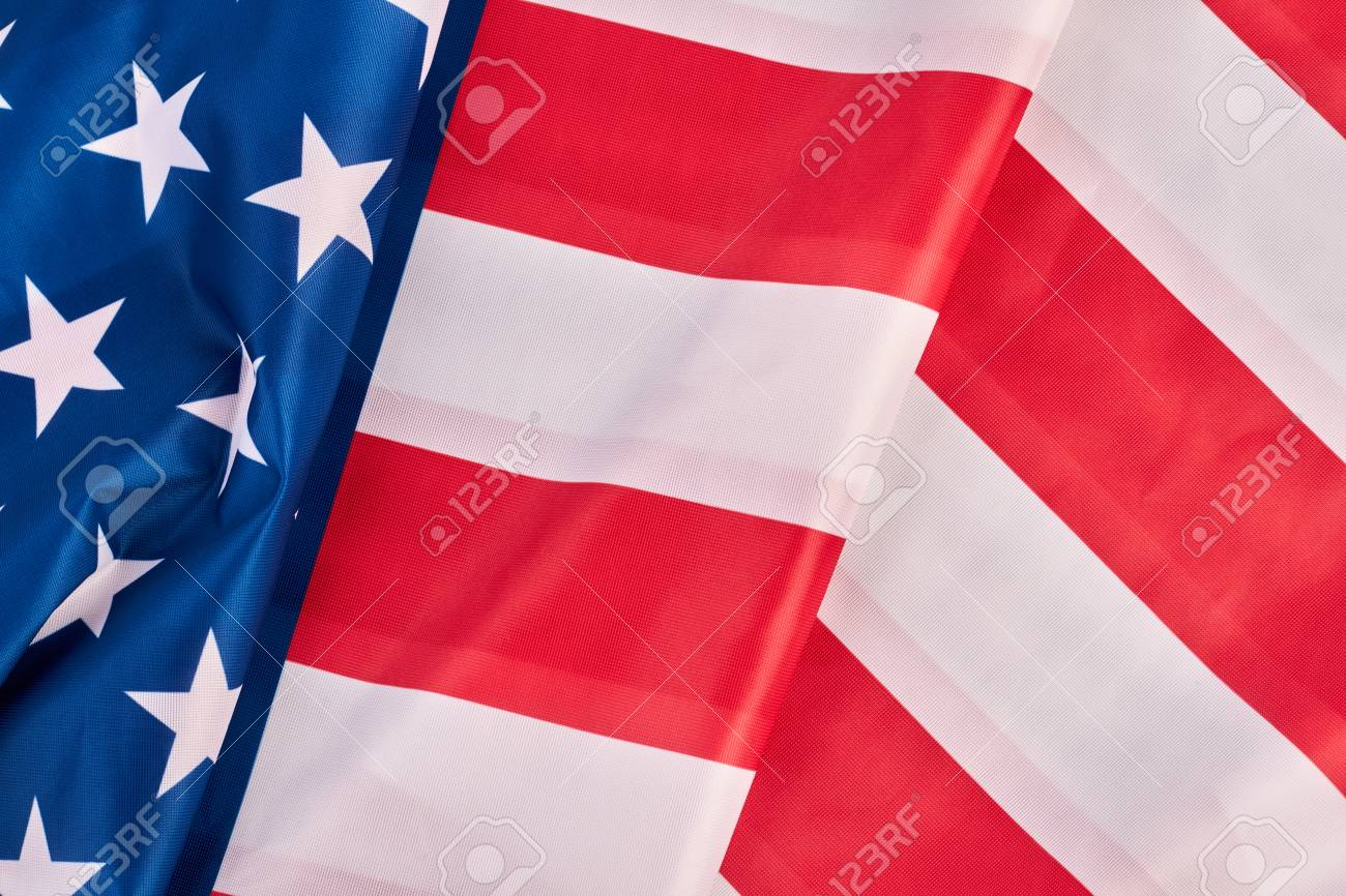 Usa Flag Background American Flag Wallpaper Idea For Banner Stock Photo Picture And Royalty Free Image Image 102415425