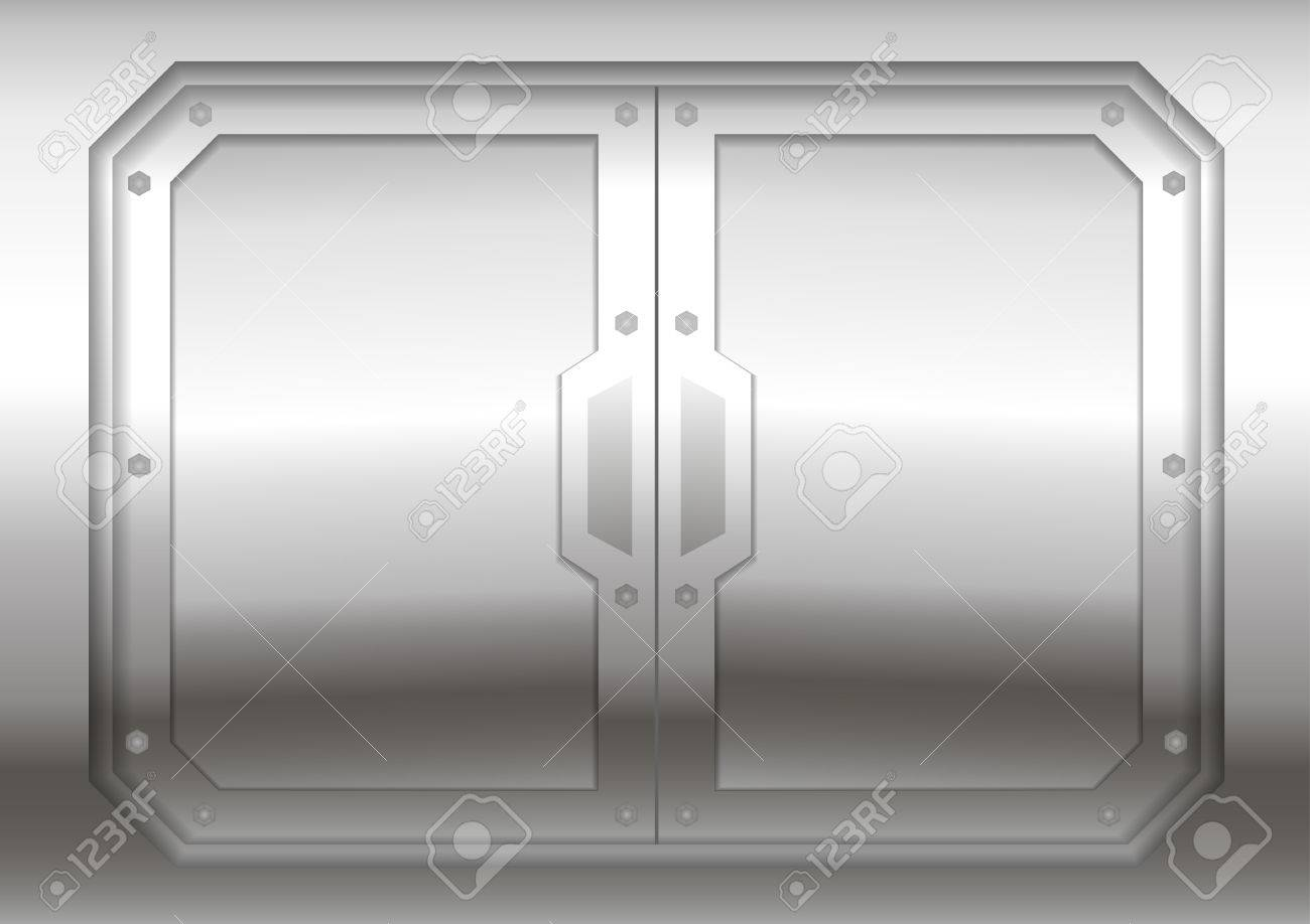 Sliding metal reservation gateway with sliding doors or gates sliding metal reservation gateway with sliding doors or gates exit portal spacecraft or submarine vtopaller Gallery
