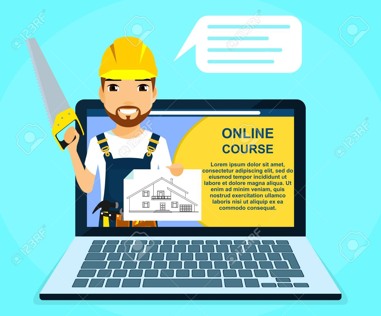 Professional online courses of construction and repair  Builder