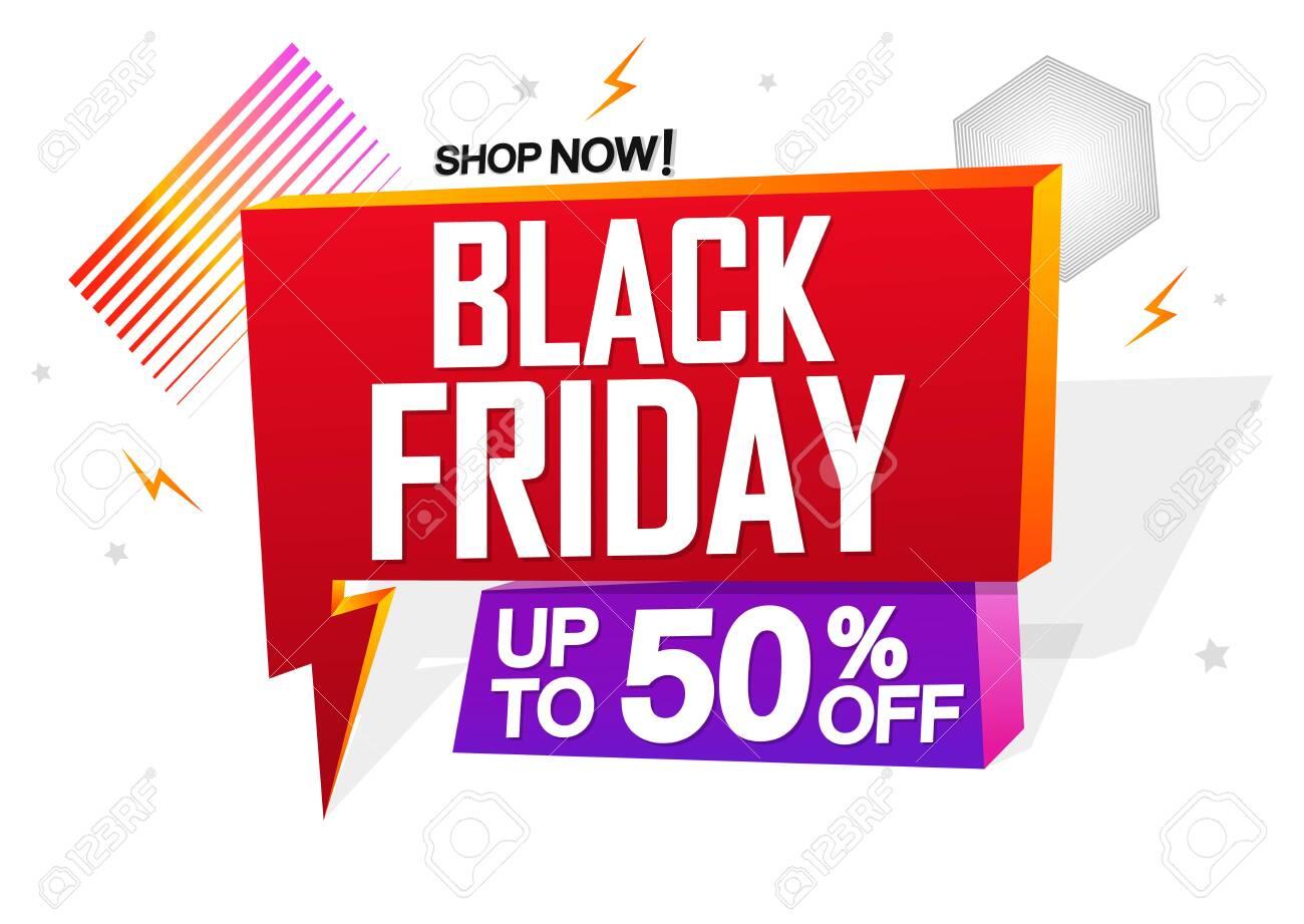 friday sale speech black