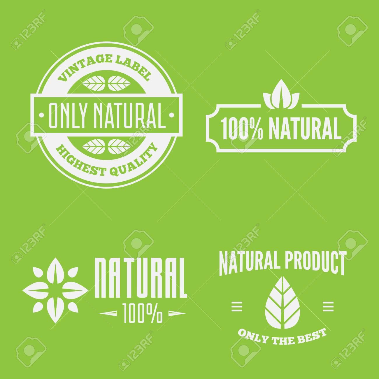 Vettoriale Set Di Icone O Etichette Di Cura Di Bellezza E Salute Spa Badge Per Centri Yoga Segni Di Benessere Image 94663113