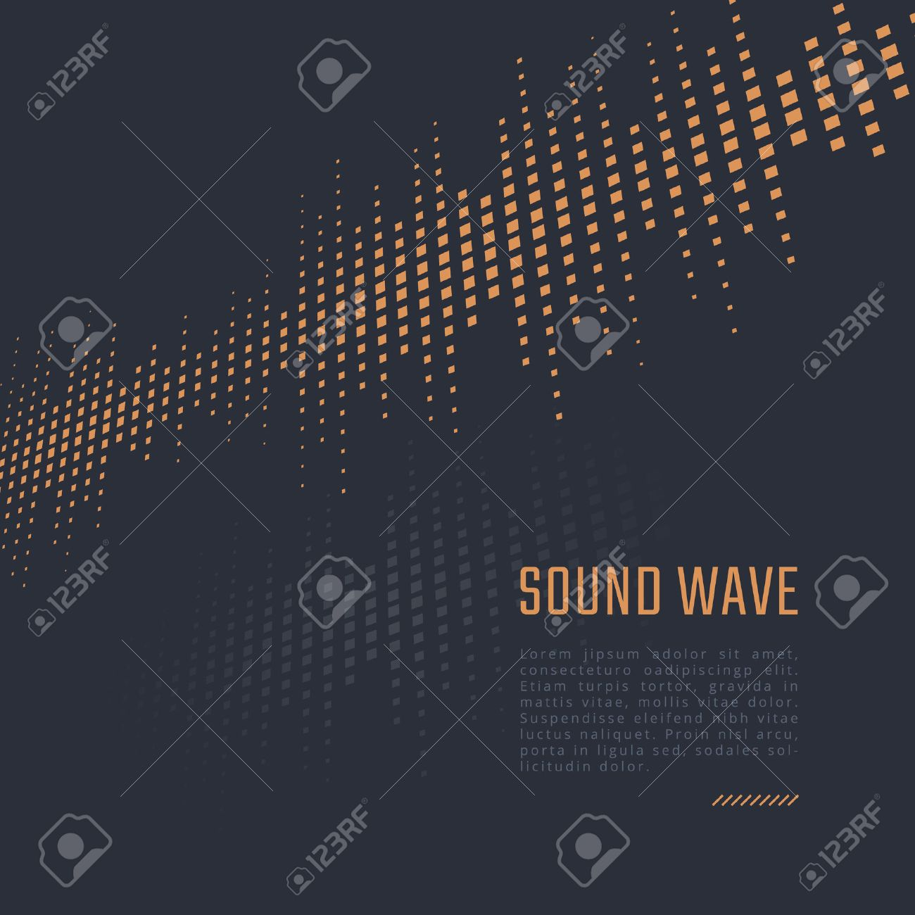 equalizer background music poster sound wave royalty free