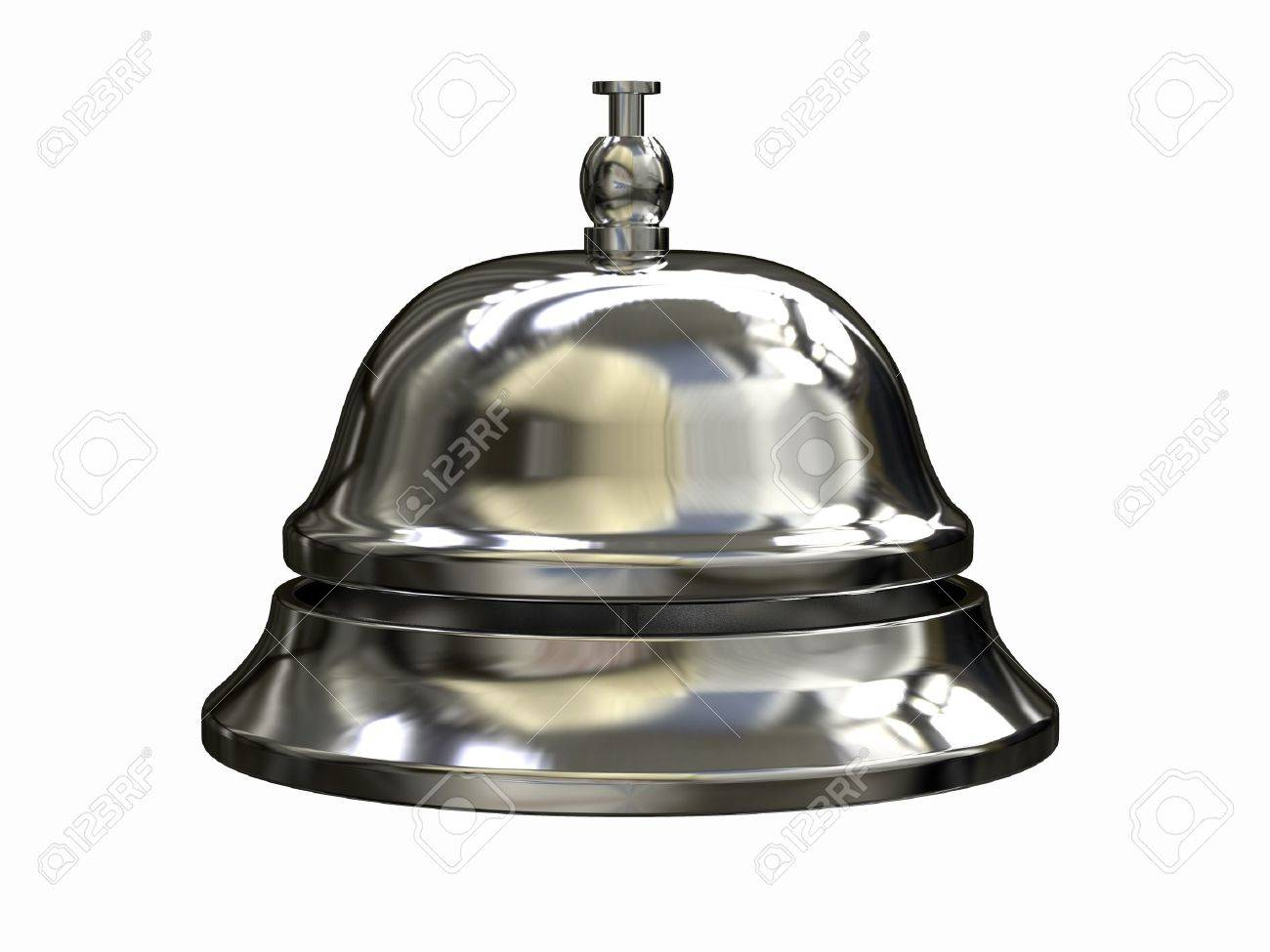 3d render of Reception bell Stock Photo - 7962646