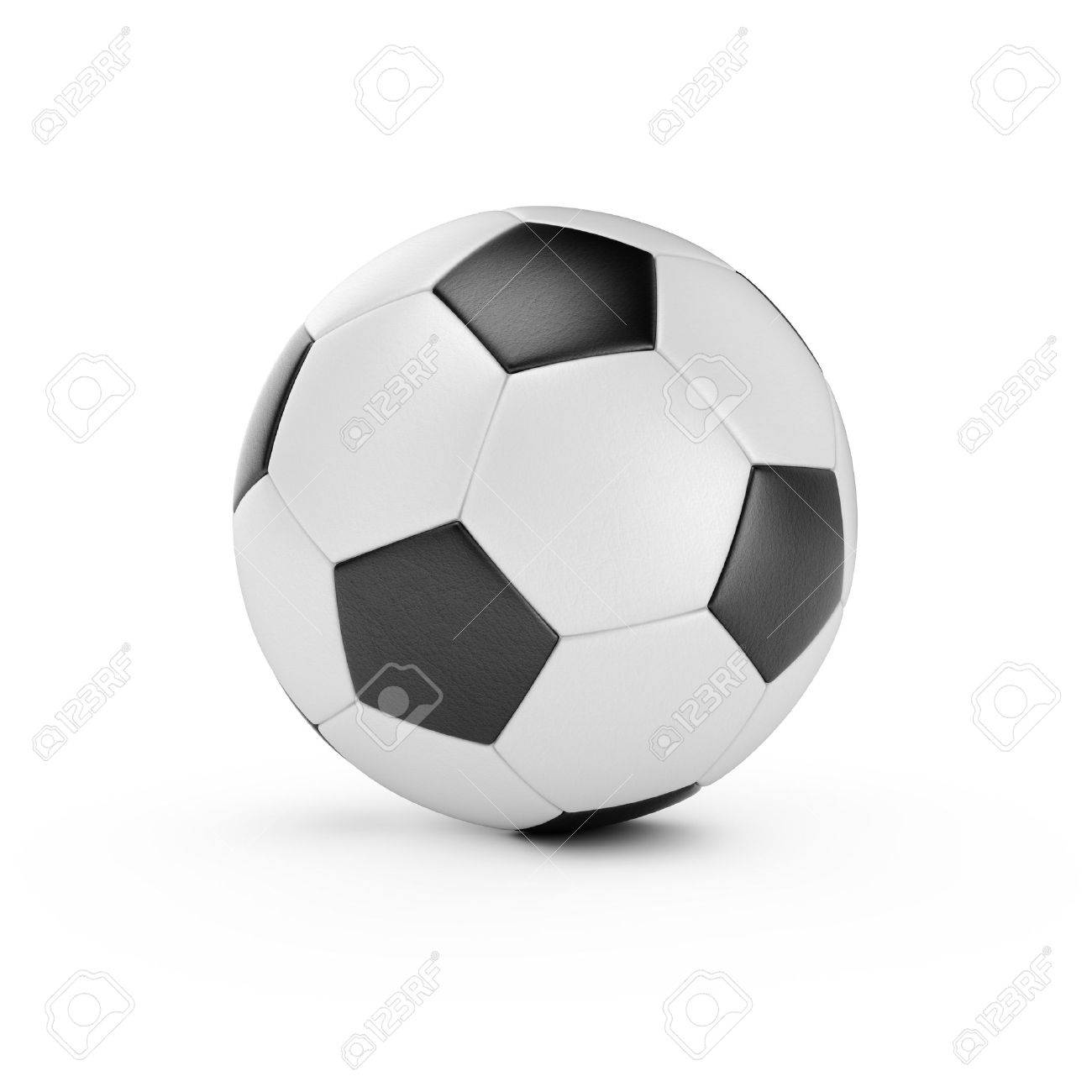 3d render of soccer ball isolated on white background Stock Photo - 14021458