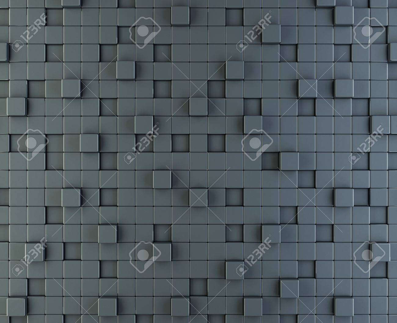3d render of abstract box background Stock Photo - 14184830