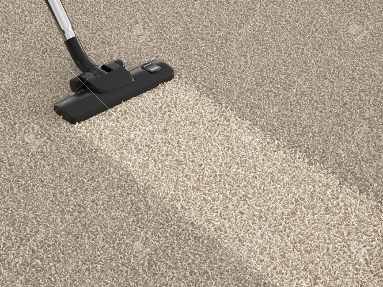 Exceptional Stock Photo   Vacuum Cleaner On The Dirty Carpet. House Cleaning Concept