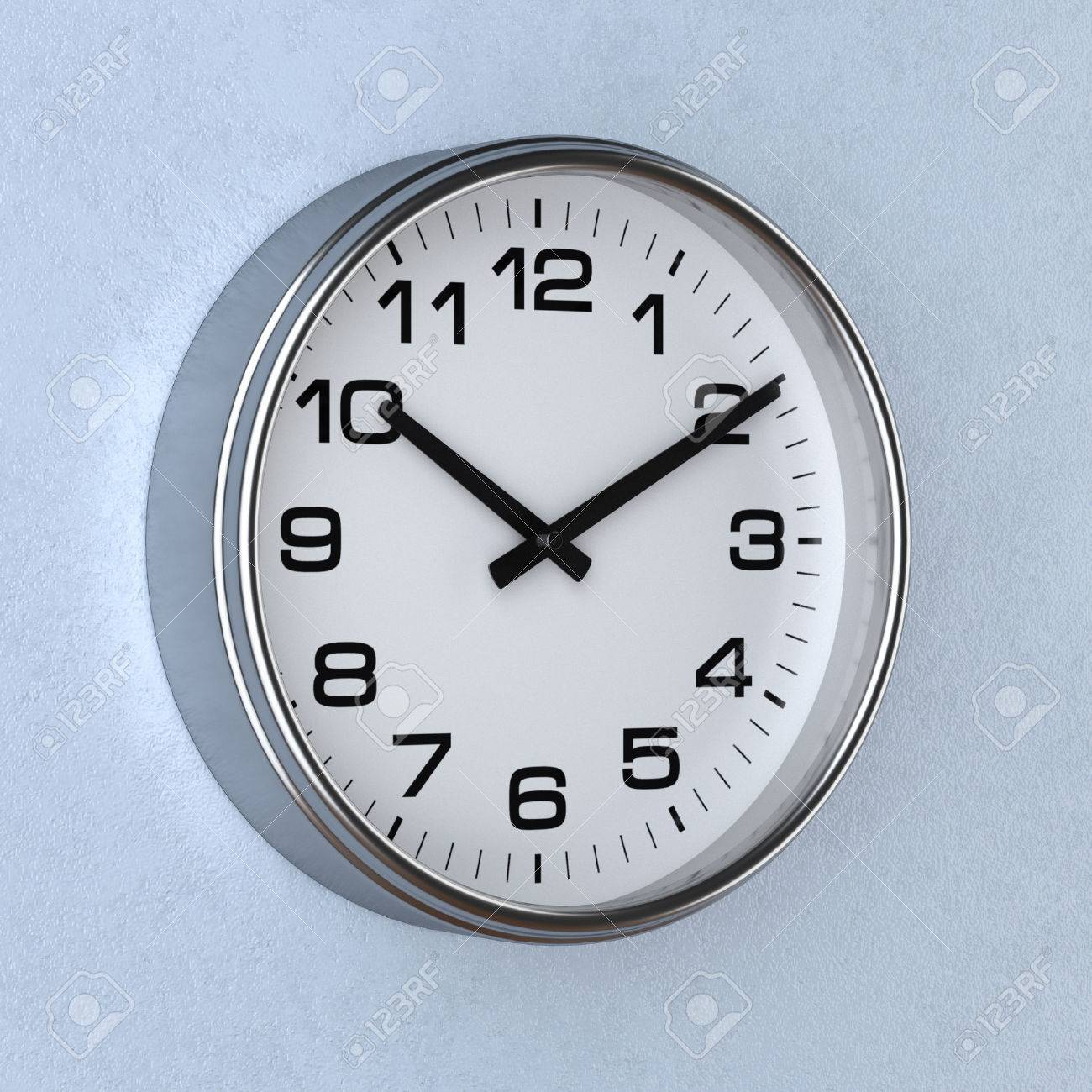 3d Reloj Representación Con Concepto Pared O Tiempo La De El qzpSMGUV