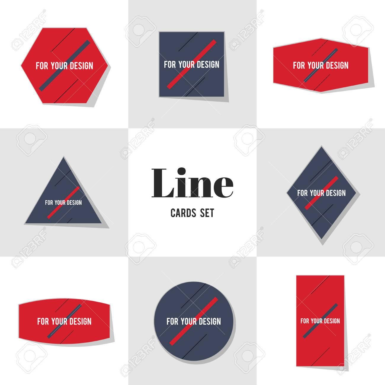 Sammlung Diagonale Linie Für Ihr Design Karten, Notizen, Aufkleber ...