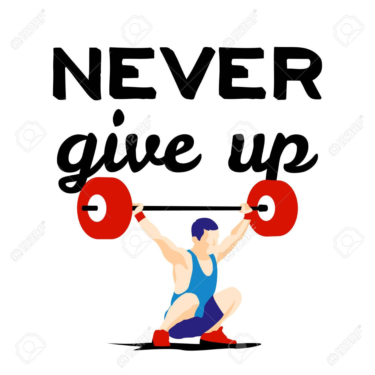 Small meaningful tattoos search my book best 25 never give up weight lifting athlete and motivational slogan never give up buycottarizona Images