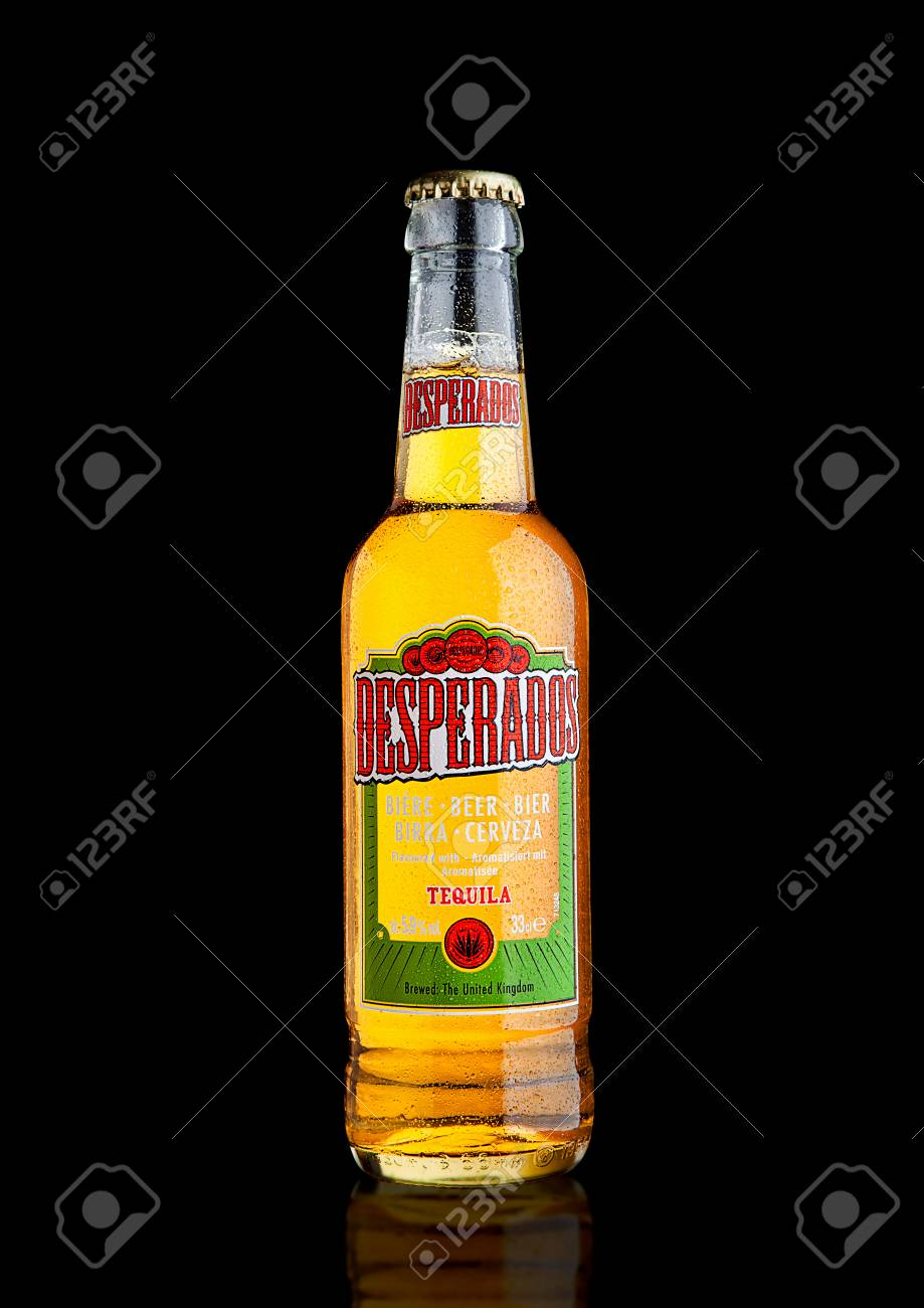 London Uk December 15 2016 Bottle Of Desperados Beer Lager Stock Photo Picture And Royalty Free Image Image 67457624