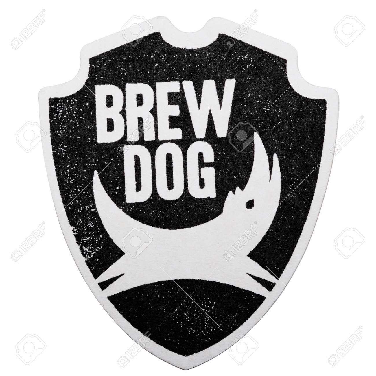 London Uk February 04 2018 Brewdog Craft Beer Original Beermat Stock Photo Picture And Royalty Free Image Image 98057978