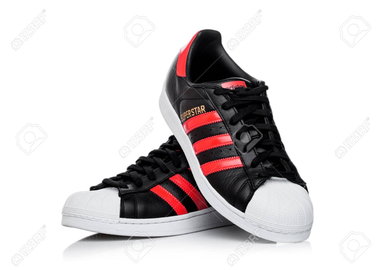adidas superstar red uk