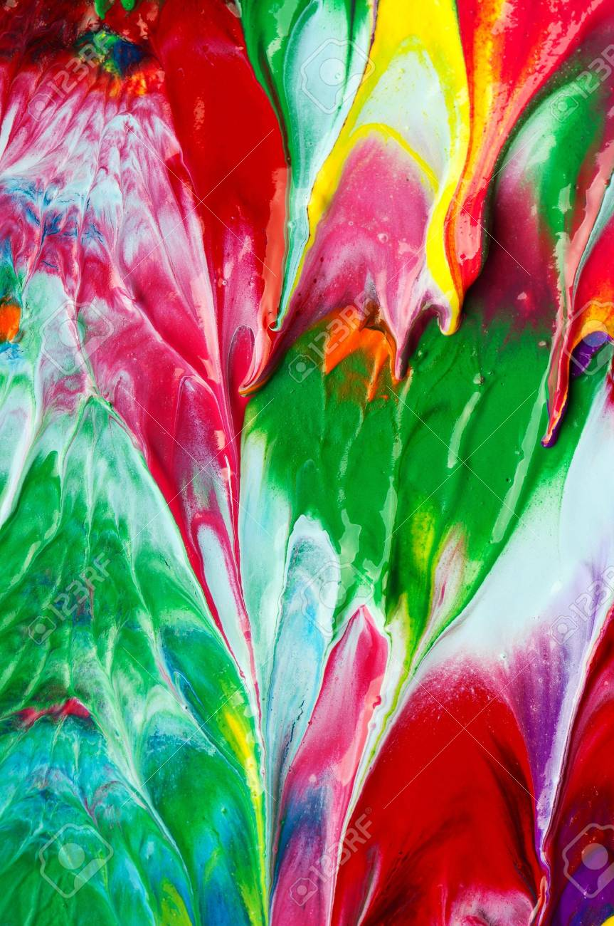 Picture, abstract painted canvas as multicolor background Stock Photo - 11328839
