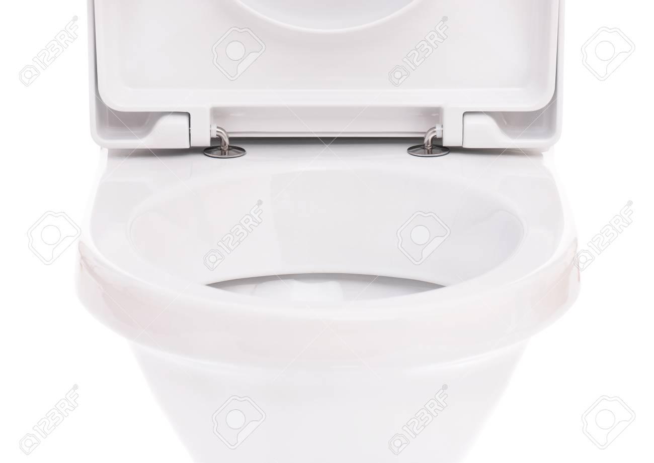 New toilet bowl isolated on white background Stock Photo - 16808362