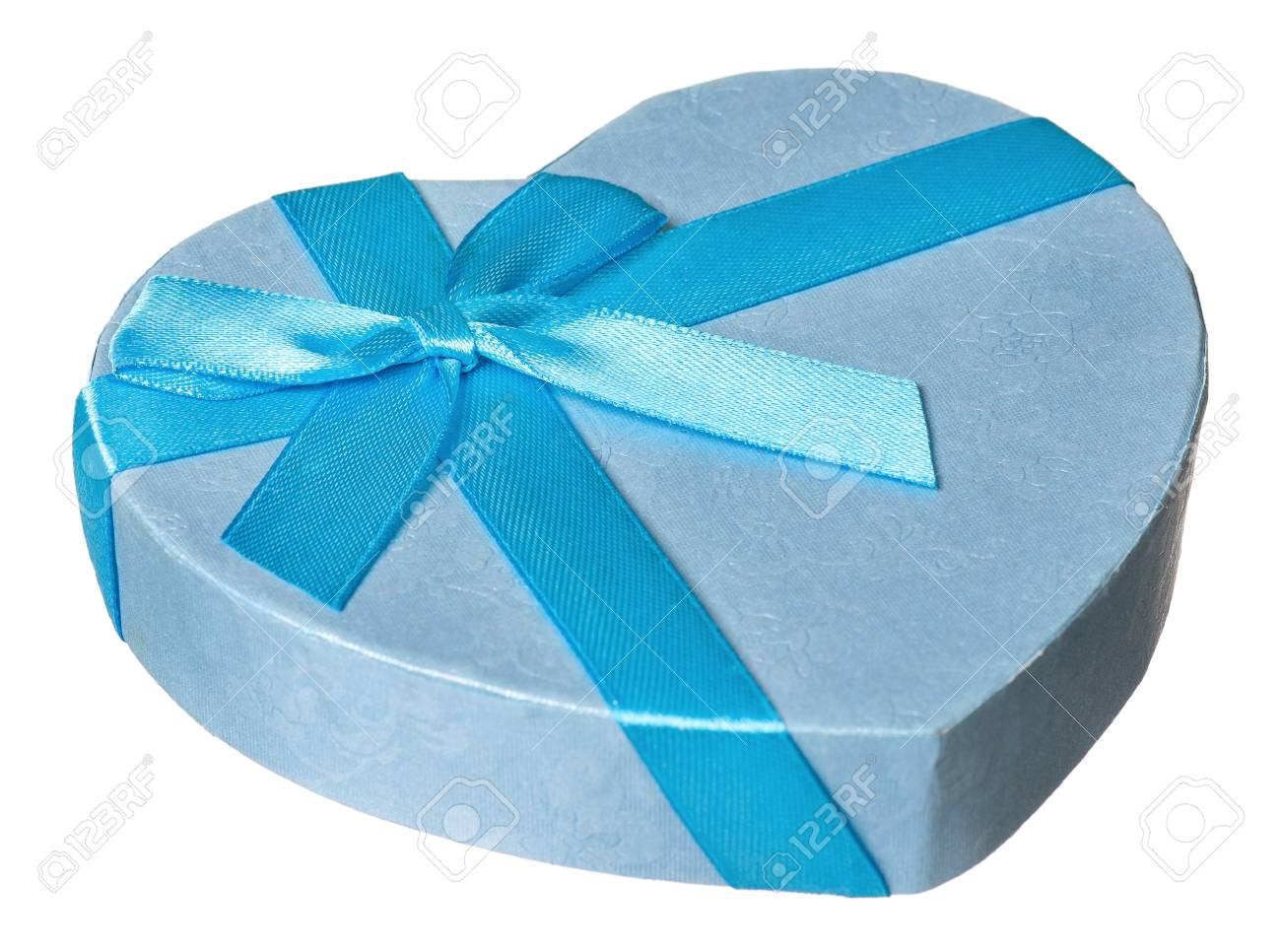 Single gift box isolated on white background Stock Photo - 17939209