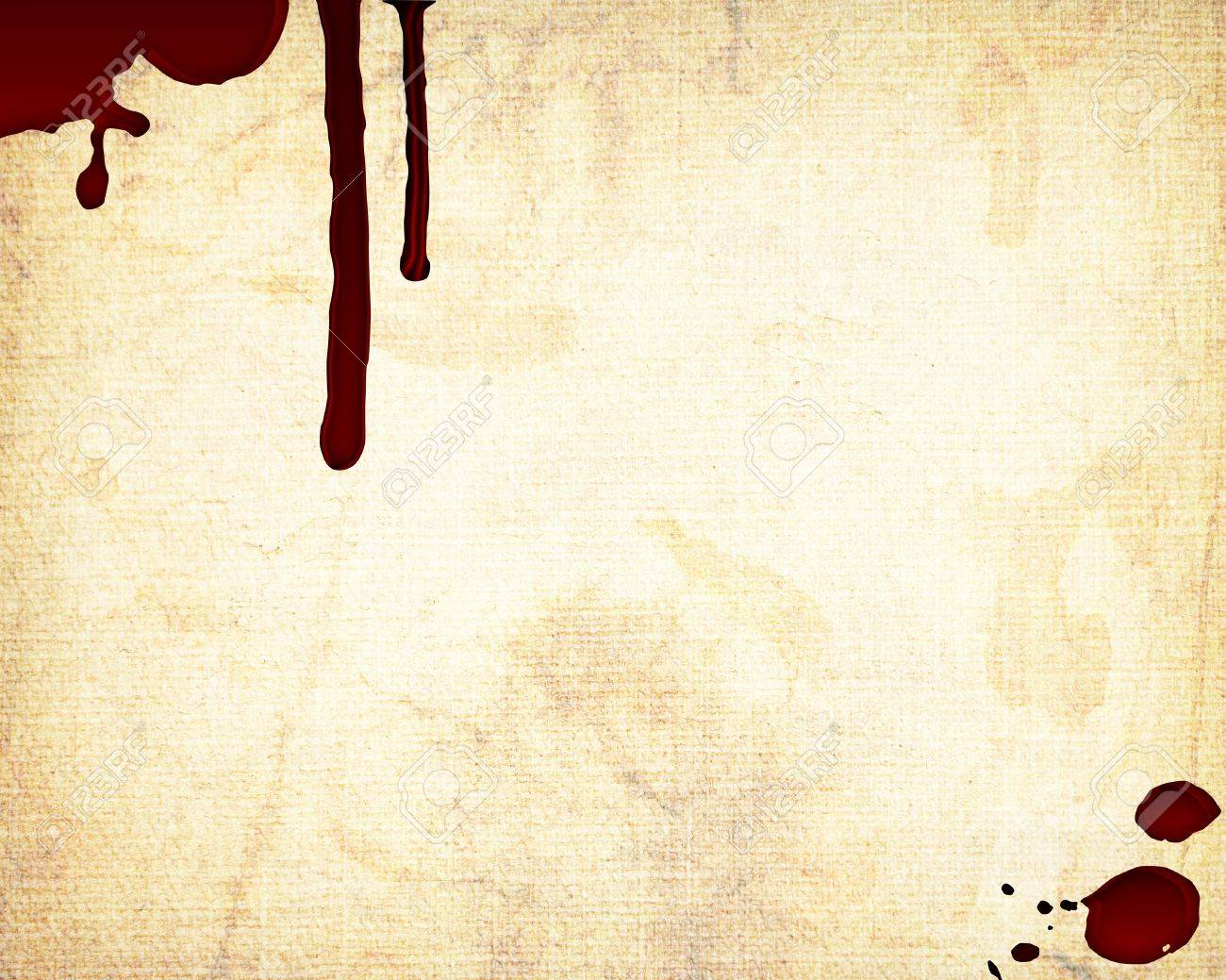 blood on the wall Stock Photo - 12704728