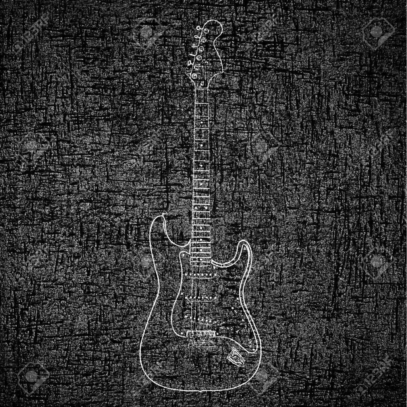 Pics photos rock concert background - Electric Guitar Background Stock Photo 12705900