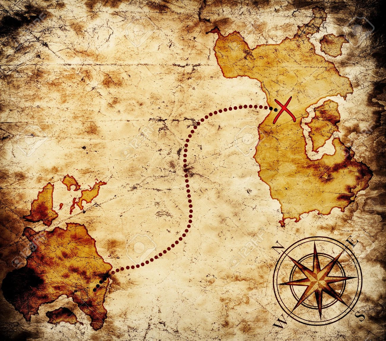 old treasure map stock photo picture and royalty free image