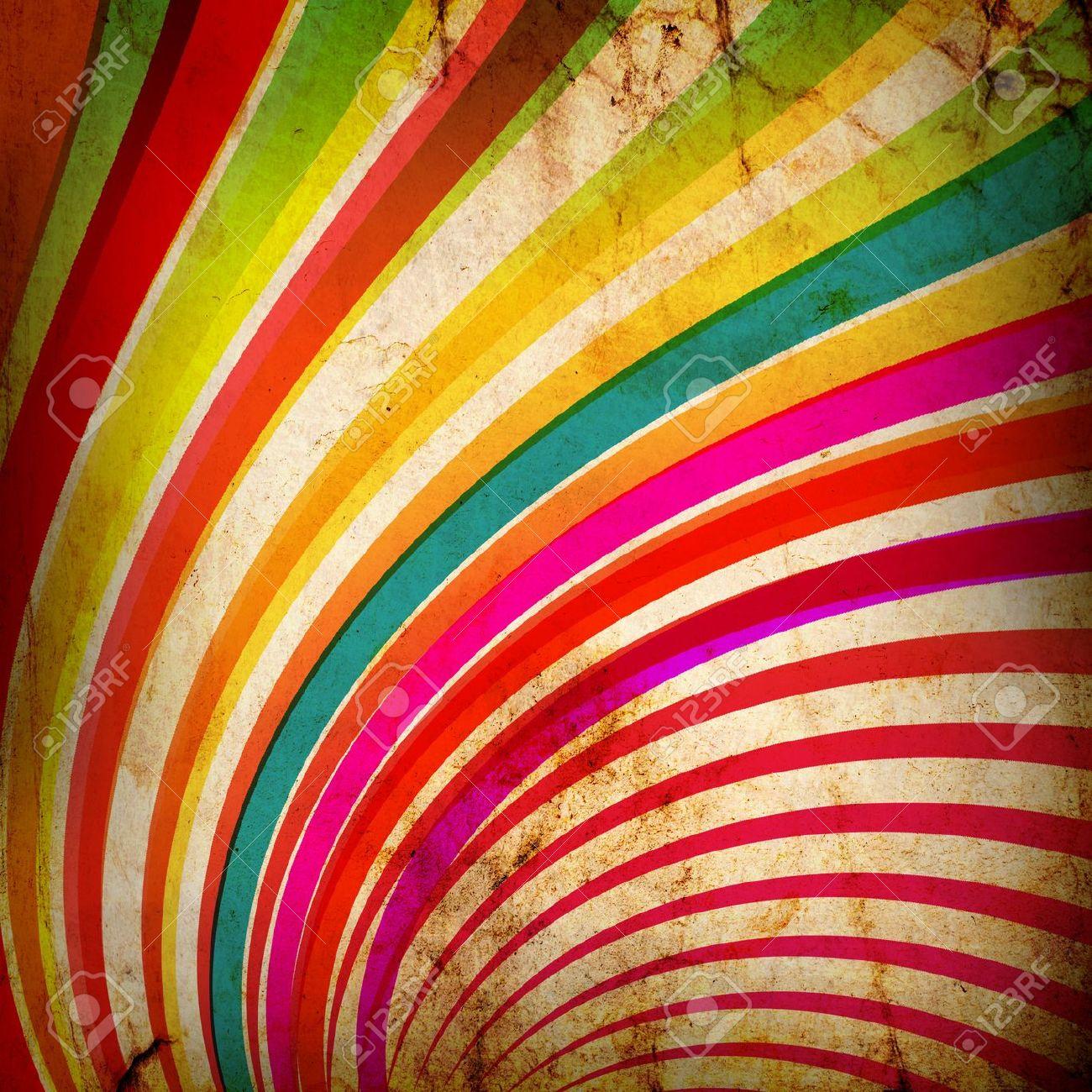 Multicolor Sunbeams grunge background Stock Photo - 13504367