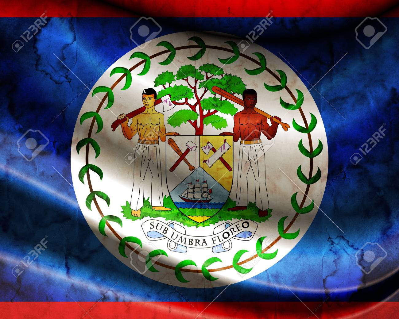 grunge flag belize stock photo picture and royalty free image