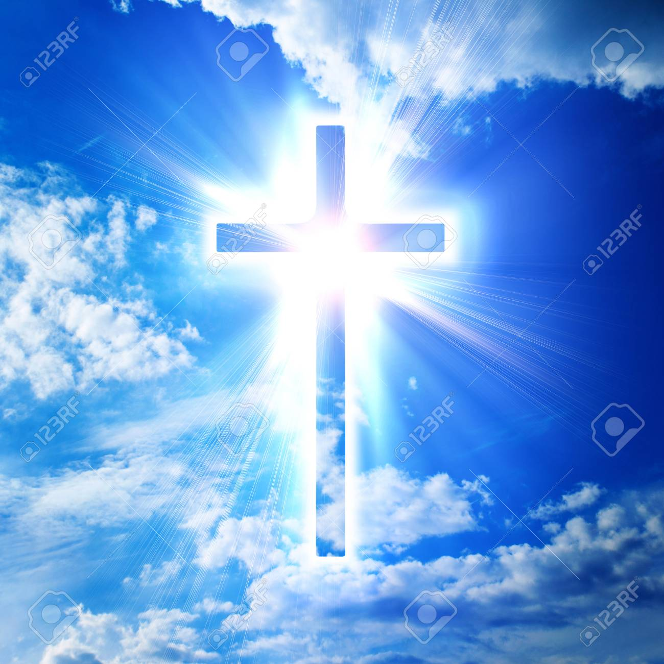 blue cross on heaven background stock photo picture and royalty free image image 87416989 123rf com