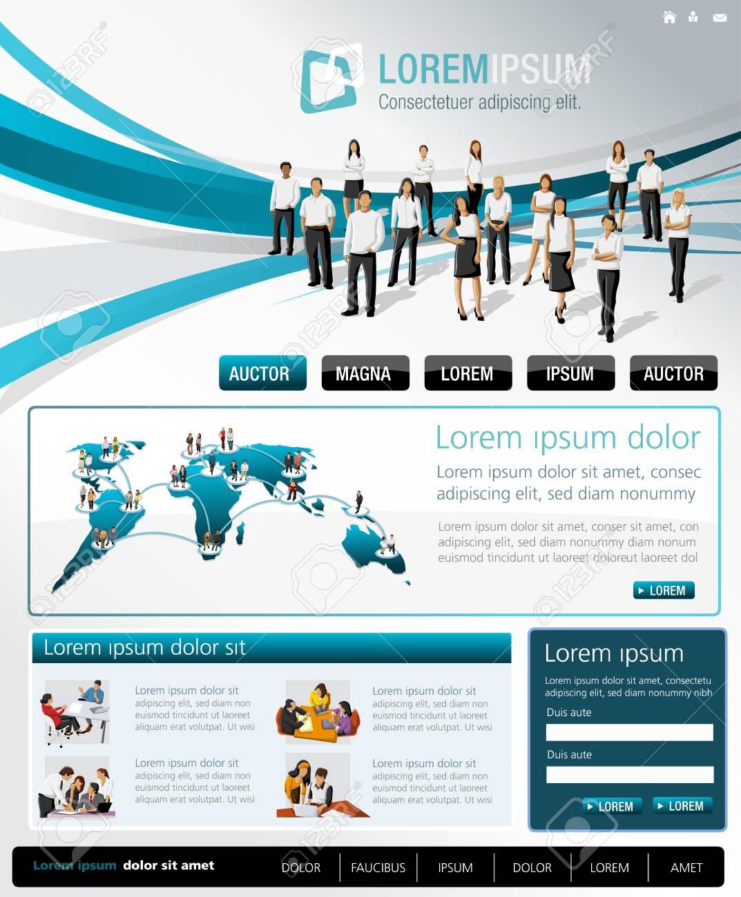 Daten-Websites für Geschäftsleute
