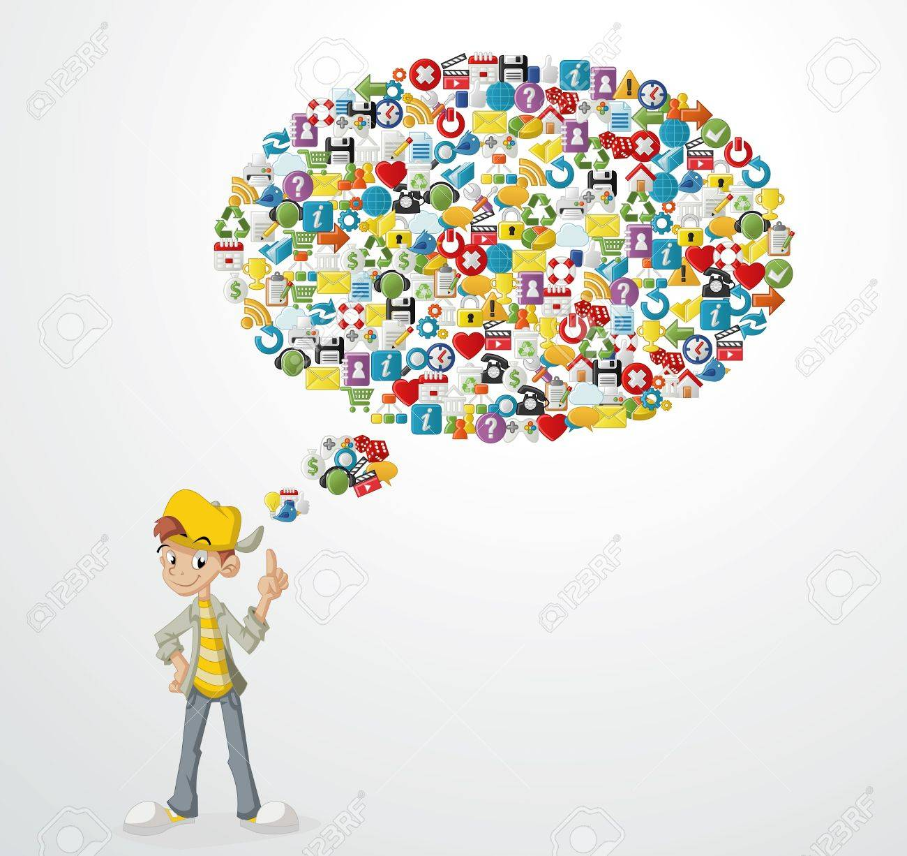 Image result for teenager without internet vector
