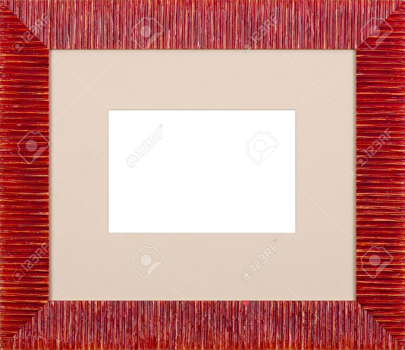 red art picture frame stock photo 12603834
