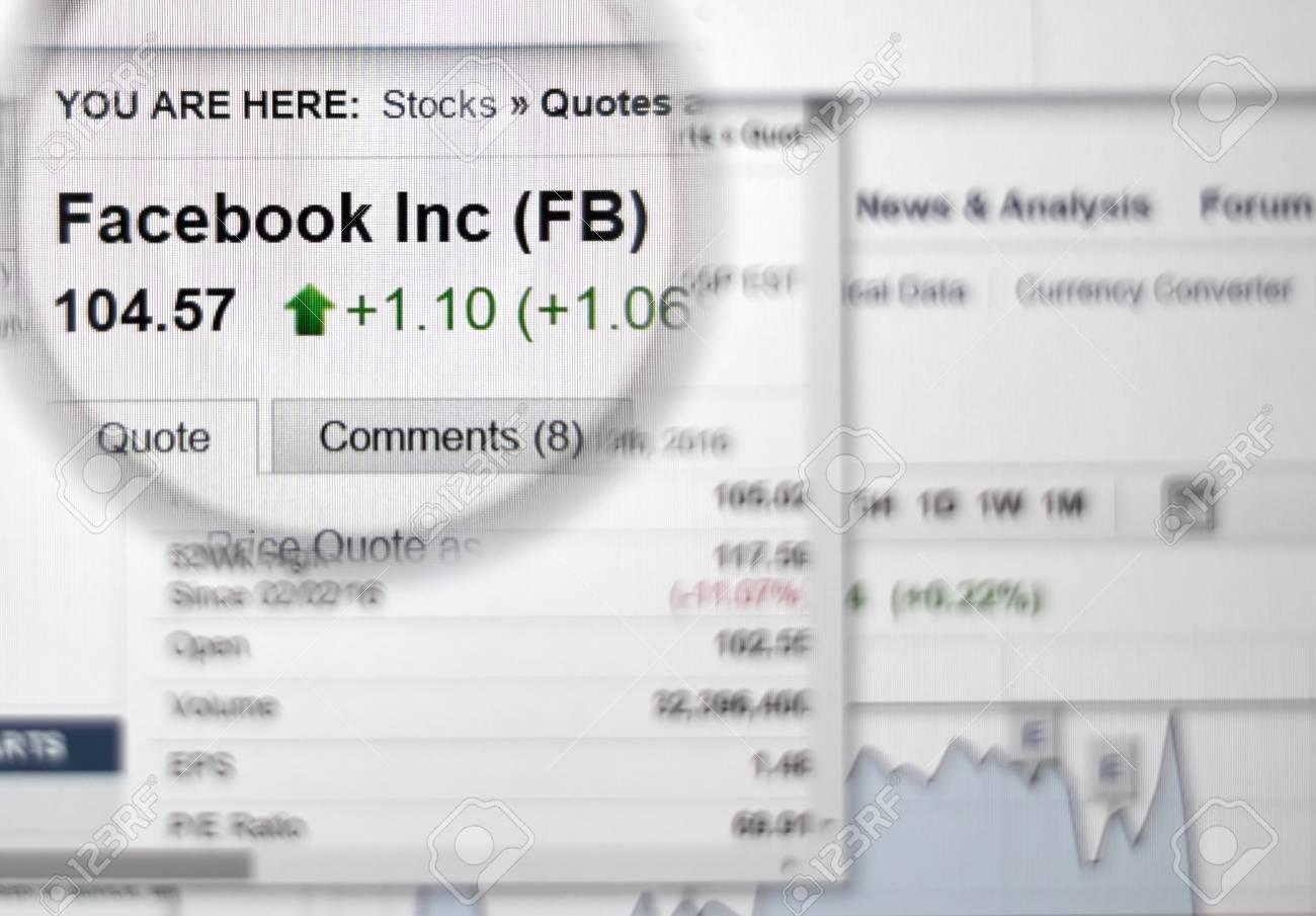 株価 facebook