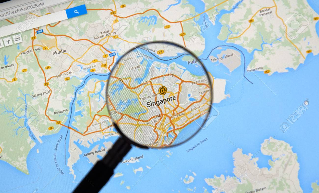 MONTREAL CANADA MARCH Singapore On Google Maps Under - Montreal canada map