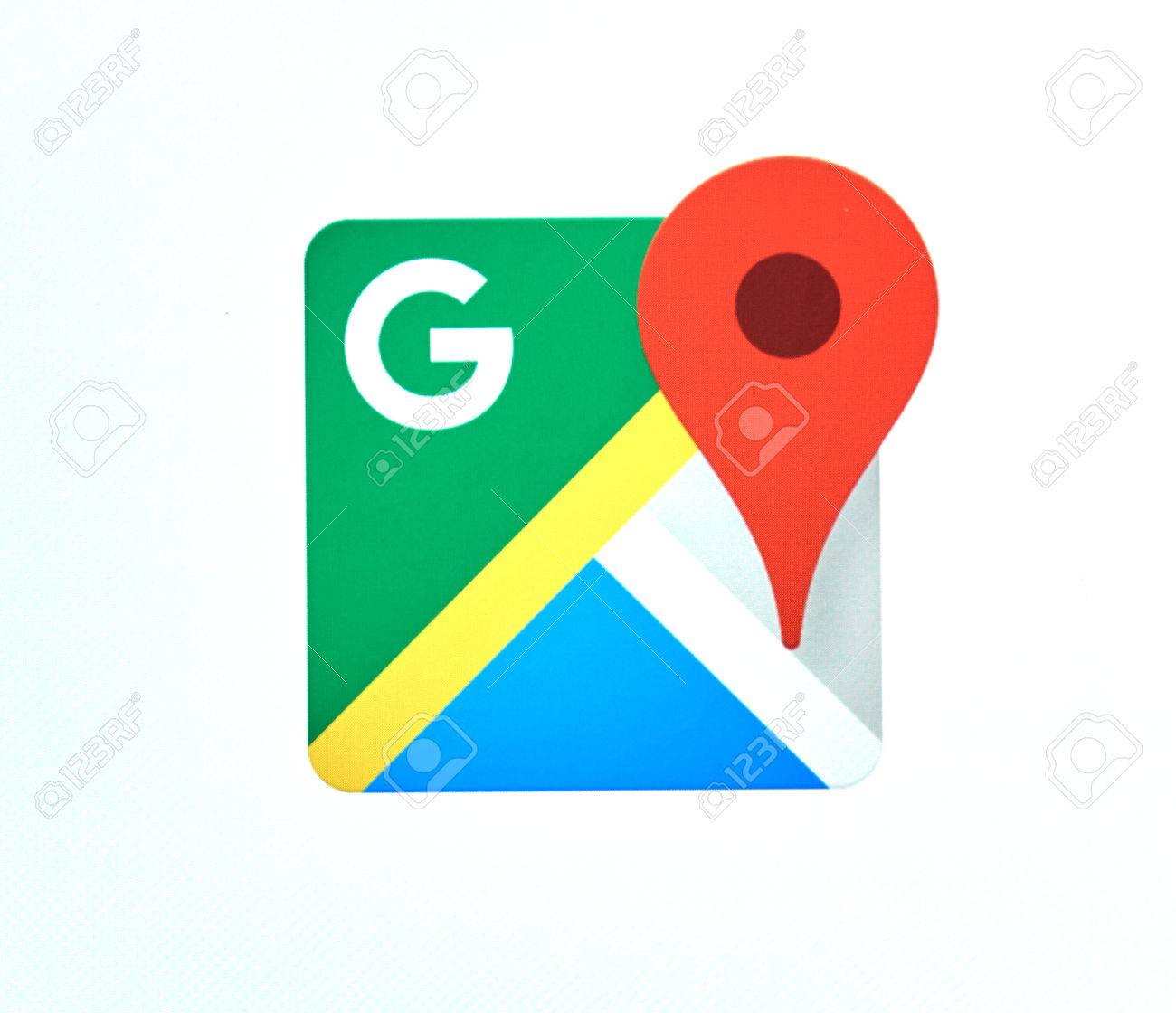 MONTREAL CANADA MAY Google Maps Logo The Google - Is google maps app free