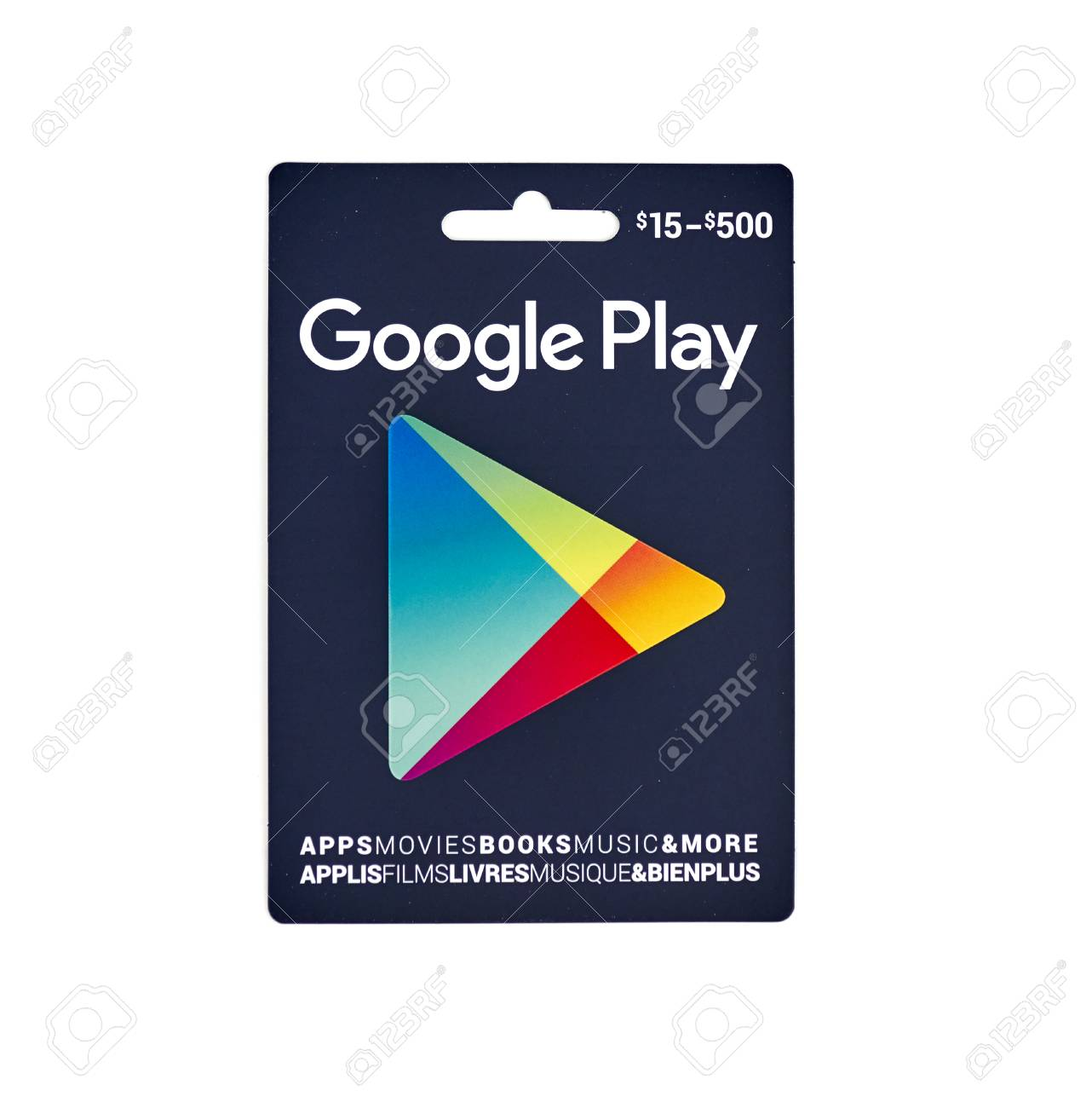 Montreal Canada 10 De Marzo De 2017 Giftcard Popular De Google