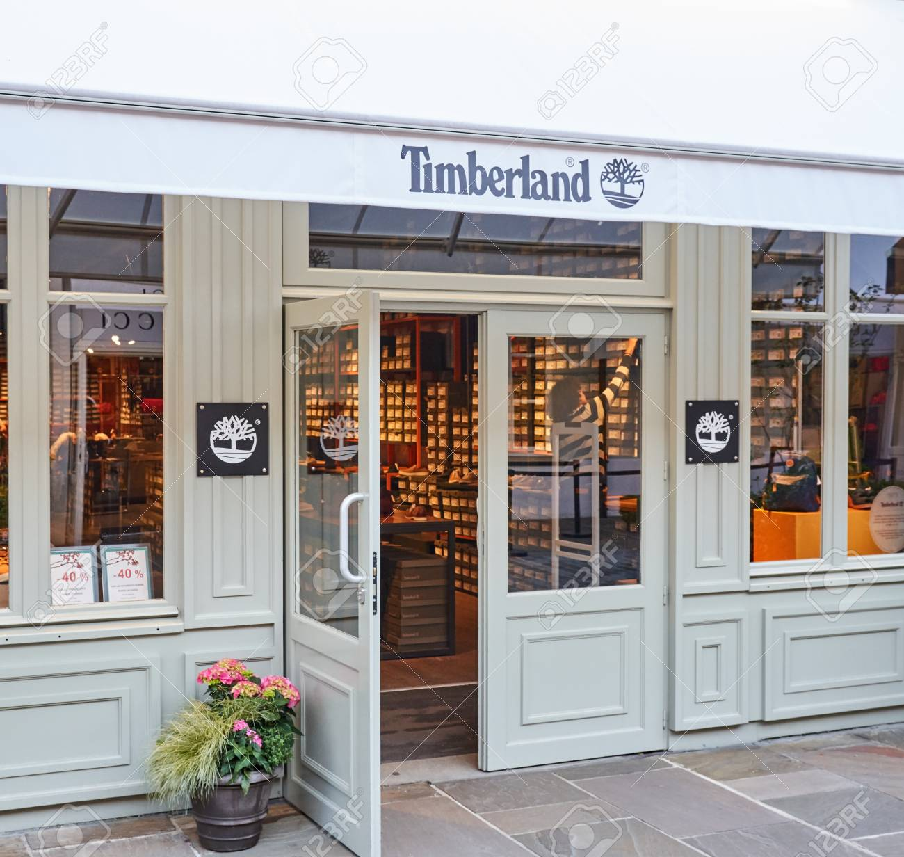 timberland france boutique