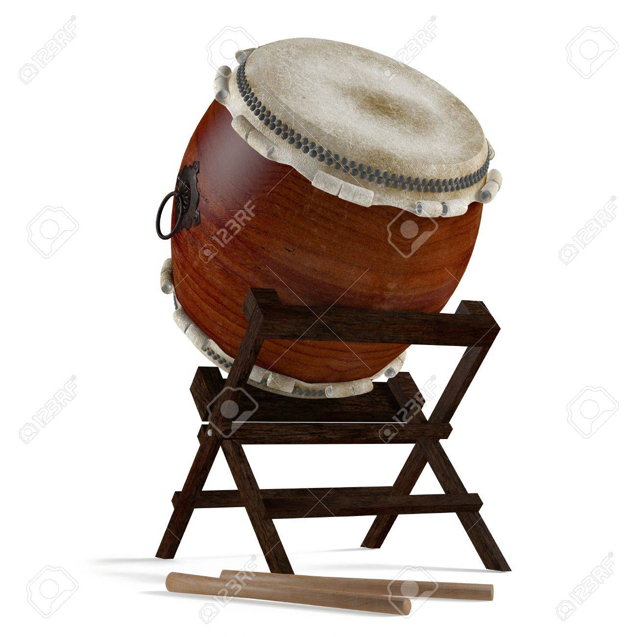 Taiko drums  Traditional Japanese instrument