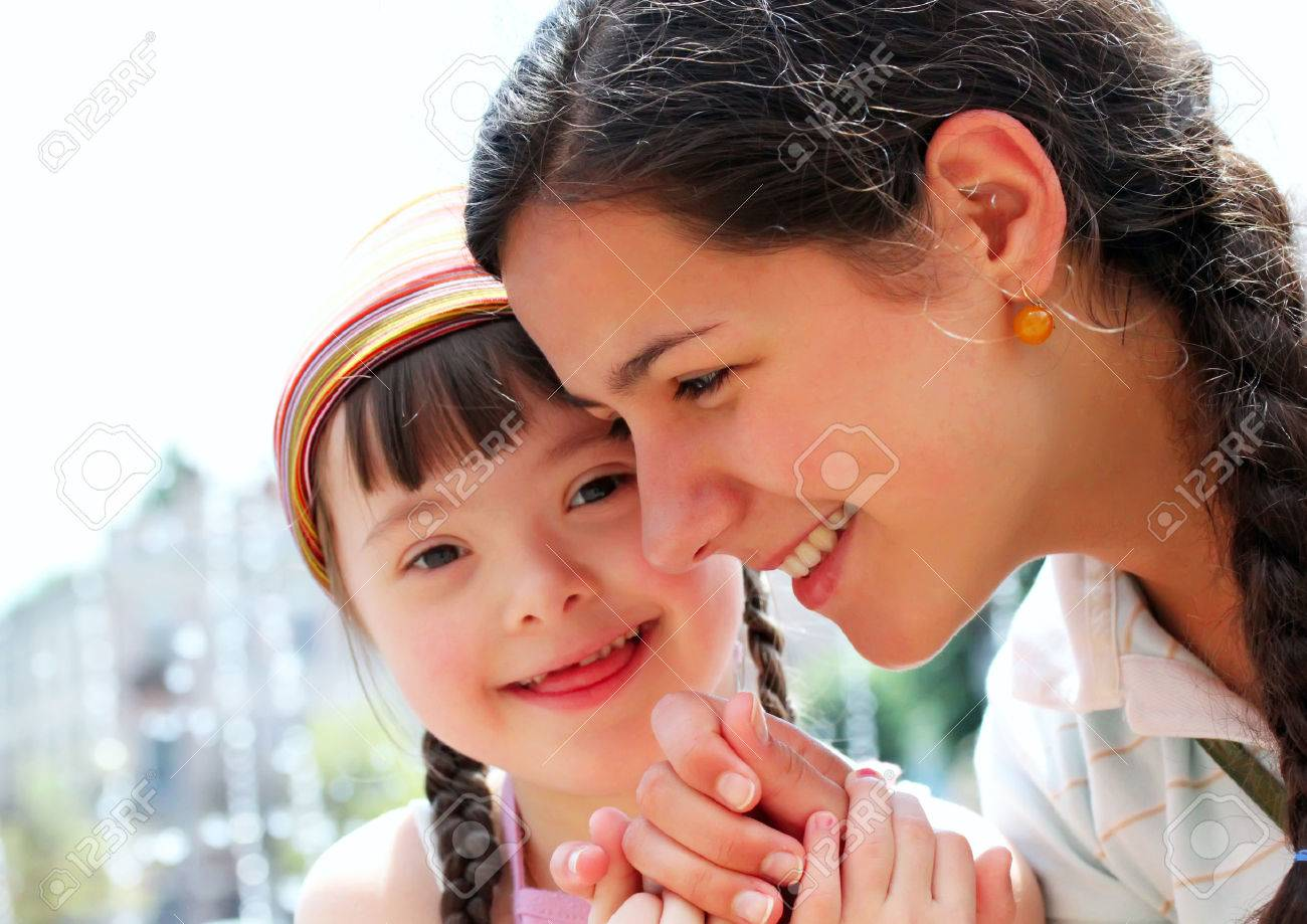 Happy family moments - Mother and child have a fun. Standard-Bild - 32802248